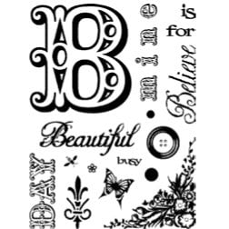 Technique Tuesday - Clear Stamps - Beautiful Day, CLEARANCE