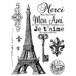 Technique Tuesday - Clear Acrylic Stamps - Mon Ami Paris