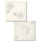 Technique Tuesday - 12x12 Technique Tiles - FUNdamentals of Snow, CLEARANCE