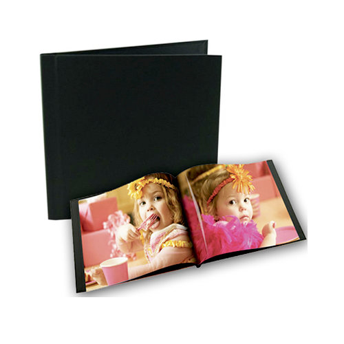 Unibind - Photobook Album - 8 x 8 - Black Linen - 9mm