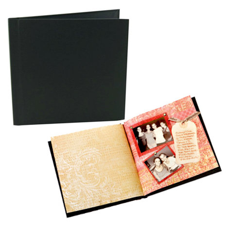 Unibind - Photobook Album - 12 x 12 - Black Linen - 9mm