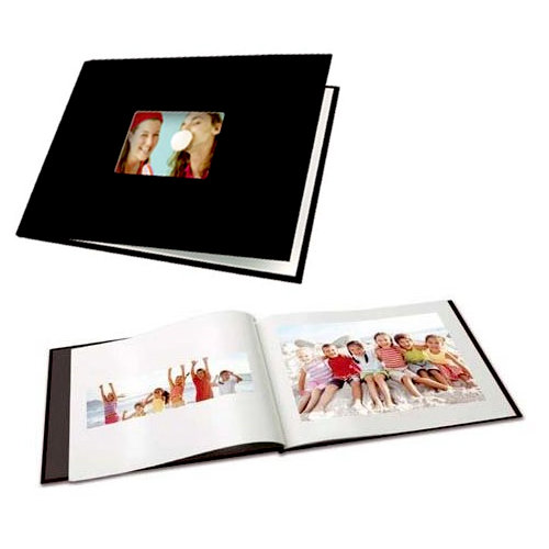 Unibind - Photobook Album - 8.5 x 11 - Black Linen - 5mm