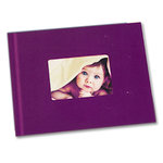 Unibind - Photobook Album - 8.5 x 11 - Purple with Window - 3mm