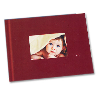 Unibind - Photobook Album - 8.5 x 11 - Red with Window - 3mm