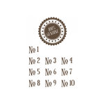 Unity Stamp - Jillibean Soup Collection - Itty Bitty - Unmounted Rubber Stamp - 100 Percent Genuine