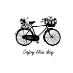 Unity Stamp - Melody Ross Collection - Itty Bitty - Unmounted Rubber Stamp - Enjoy this Day