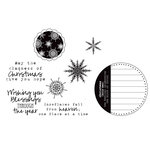 Unity Stamp - Jillibean Soup Collection - Unmounted Rubber Stamp Set - Snowflakes Fall…