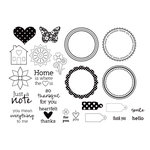 Unity Stamp - Jillibean Soup Collection - Unmounted Rubber Stamp Set - Dutch Mustard Soup