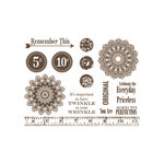Unity Stamp - Jillibean Soup Collection - Unmounted Rubber Stamp - Grandma's Closet