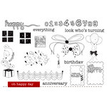 Unity Stamp - Unity Artista Collection - Unmounted Rubber Stamp Set - Oh Happy Day