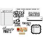 Unity Stamp - Simple Stories Collection - Unmounted Rubber Stamp - Smarty Pants
