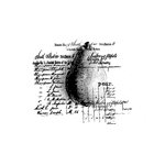 Unity Stamp - Unmounted Rubber Stamp - Pear of a Recipe