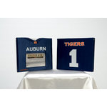 Uniformed Scrapbooks of America - 8 x 8 Photo and Keepsake Album - Auburn University