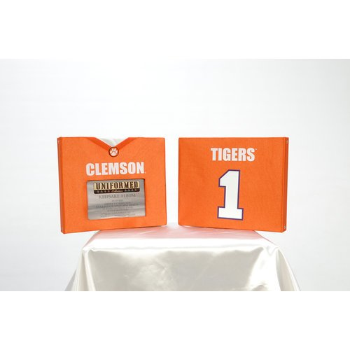 Uniformed Scrapbooks of America - 8 x 8 Photo and Keepsake Album - Clemson University