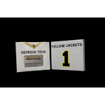 Uniformed Scrapbooks of America - 8 x 8 Photo and Keepsake Album - Georgia Tech