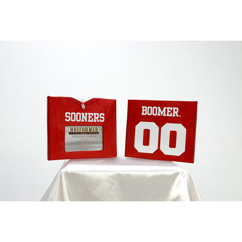 Uniformed Scrapbooks of America - 8 x 8 Photo and Keepsake Album - University of Oklahoma