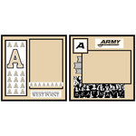 Uniformed Scrapbooks of America - 8 x 8 Page Kit - U.S. Military Academy