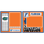 Uniformed Scrapbooks of America - 8 x 8 Page Kit - University of Florida