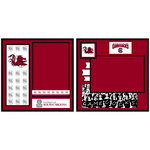 Uniformed Scrapbooks of America - 8 x 8 Page Kit - University of South Carolina