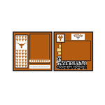 Uniformed Scrapbooks of America - 8 x 8 Page Kit - University of Texas at Austin