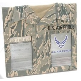 Uniformed Scrapbooks of America -  Double 4 x 6 Frame - U.S. Air Force