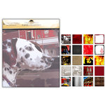 Uniformed Scrapbooks of America - 12 x 12 Paper Pack - Fire and Rescue