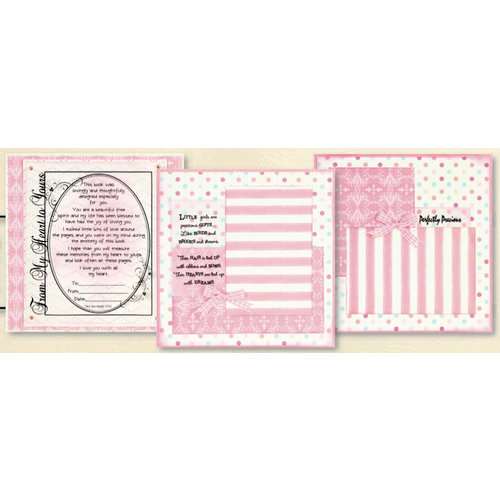 Uniformed Scrapbooks of America - 8 x 8 Page Kit - Little Girl