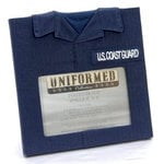 Uniformed Scrapbooks of America -  Single 4 x 6 Frame - U.S. Coast Guard