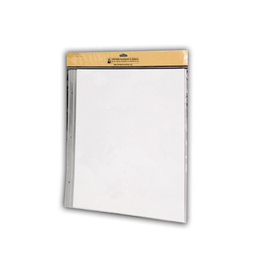 Uniformed Scrapbooks of America - 12 x 12 Postbound Page Protectors