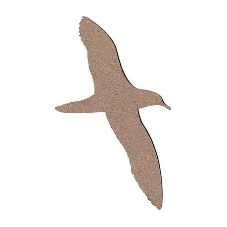 Leaky Shed Studio - Animal Collection - Chipboard Shapes - Seagull