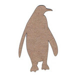 Leaky Shed Studio - Animal Collection - Chipboard Shapes - Penguin
