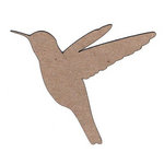 Leaky Shed Studio - Animal Collection - Chipboard Shapes - Humming Bird