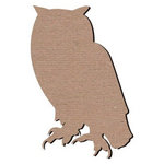 Leaky Shed Studio - Animal Collection - Chipboard Shapes - Owl