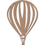 Leaky Shed Studio - Chipboard Shapes - Hot Air Balloon 2