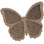 Leaky Shed Studio - Chipboard Albums - Butterfly 2