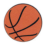Leaky Shed Studio - Cardstock Die Cuts - Basketball