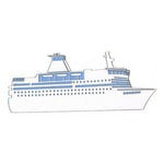Leaky Shed Studio - Cardstock Die Cuts - Cruise Ship