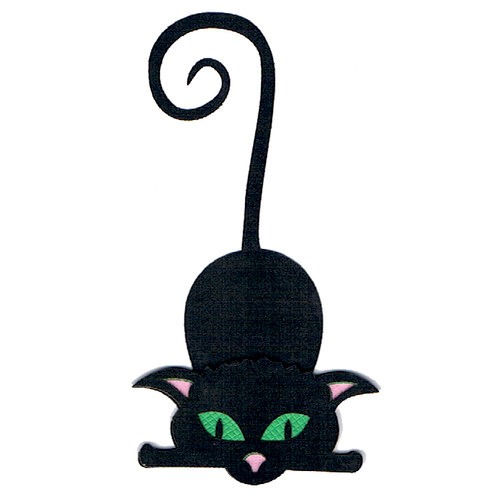 Leaky Shed Studio - Cardstock Die Cuts - Cat Halloween 2