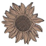 Leaky Shed Studio - Chipboard Shapes - Sunflower