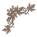 Leaky Shed Studio - Chipboard Shapes - Autumn Leaf Crown