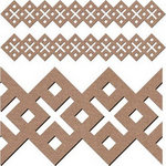 Leaky Shed Studio - Chipboard Shapes - Celtic Border