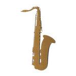 Leaky Shed Studio - Cardstock Die Cuts - Saxophone