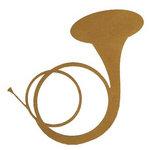 Leaky Shed Studio - Cardstock Die Cuts - Horn