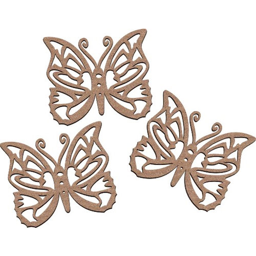 Leaky Shed Studio - Animal Collection - Chipboard Shapes - Small - Spring Butterfly
