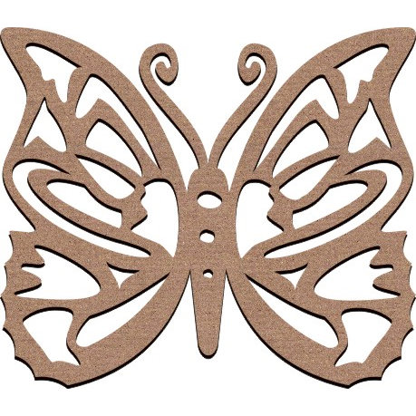 Leaky Shed Studio - Animal Collection - Chipboard Shapes - Large - Spring Butterfly