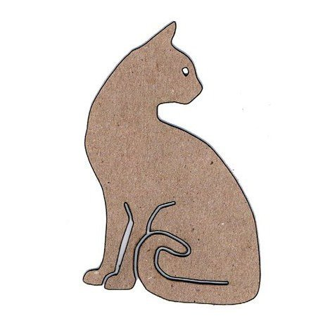 Leaky Shed Studio - Animal Collection - Chipboard Shapes - Cat Sitting