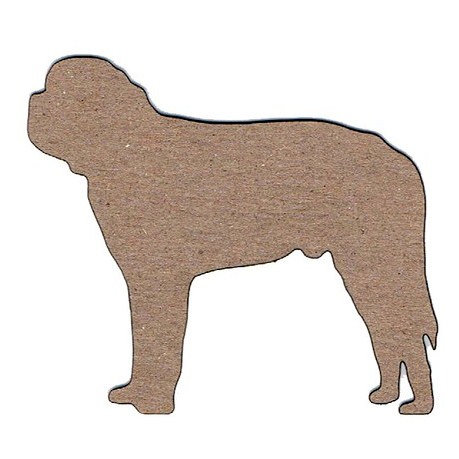 Leaky Shed Studio - Animal Collection - Chipboard Shapes - St. Bernard