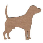 Leaky Shed Studio - Animal Collection - Chipboard Shapes - Beagle