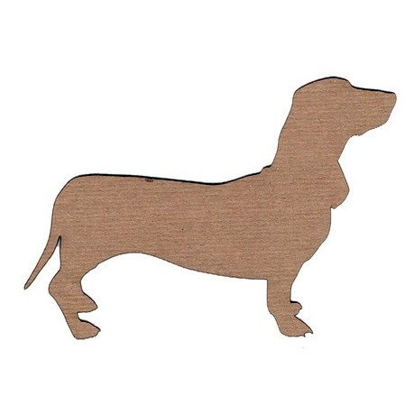 Leaky Shed Studio - Animal Collection - Chipboard Shapes - Dachshund 1