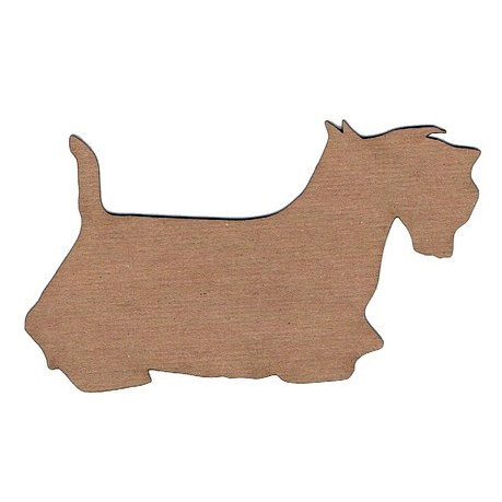 Leaky Shed Studio - Animal Collection - Chipboard Shapes - Scottish Terrier